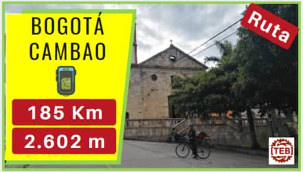 Viajando en bici de Bogota a Cambao