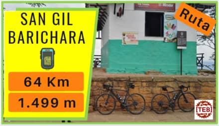 Viaje bicicleta Barichara